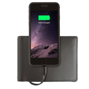 Nomad Wallet with Built-in Charger - 1