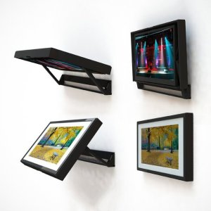 The HIDDEN VISION Flip-Around TV Mount - 1