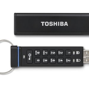 Toshiba Encrypted USB Flash Drive - 1