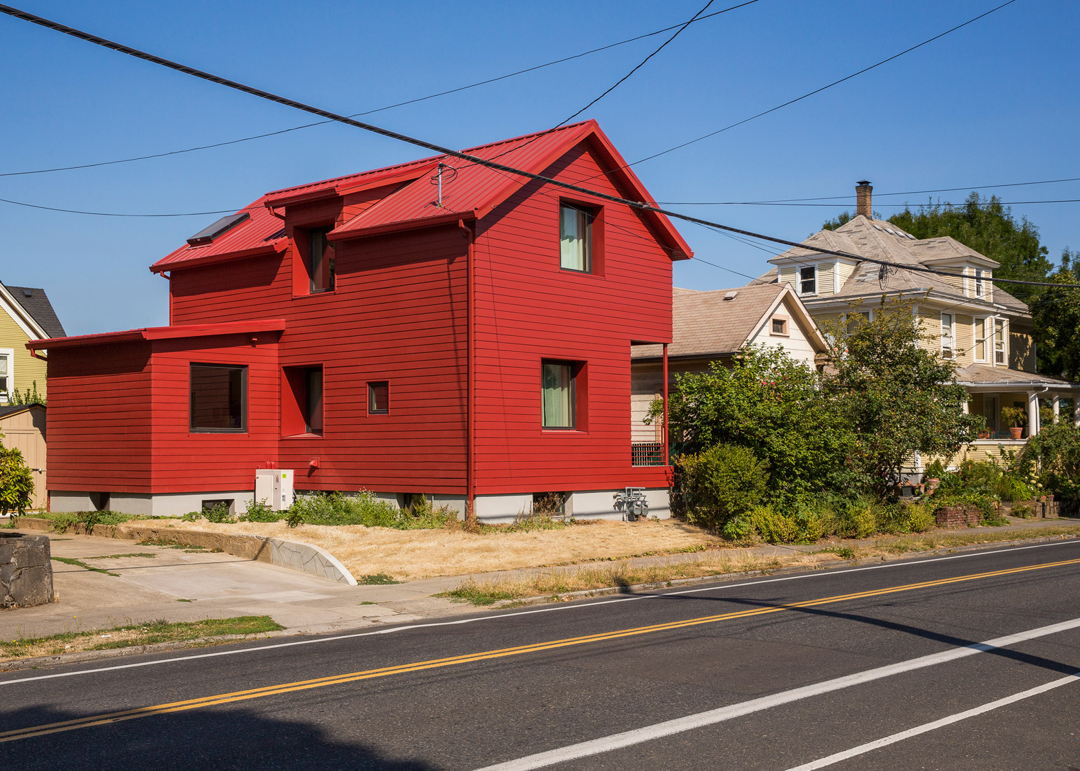 A Small Red Victorian House In Portland Your No1 Source