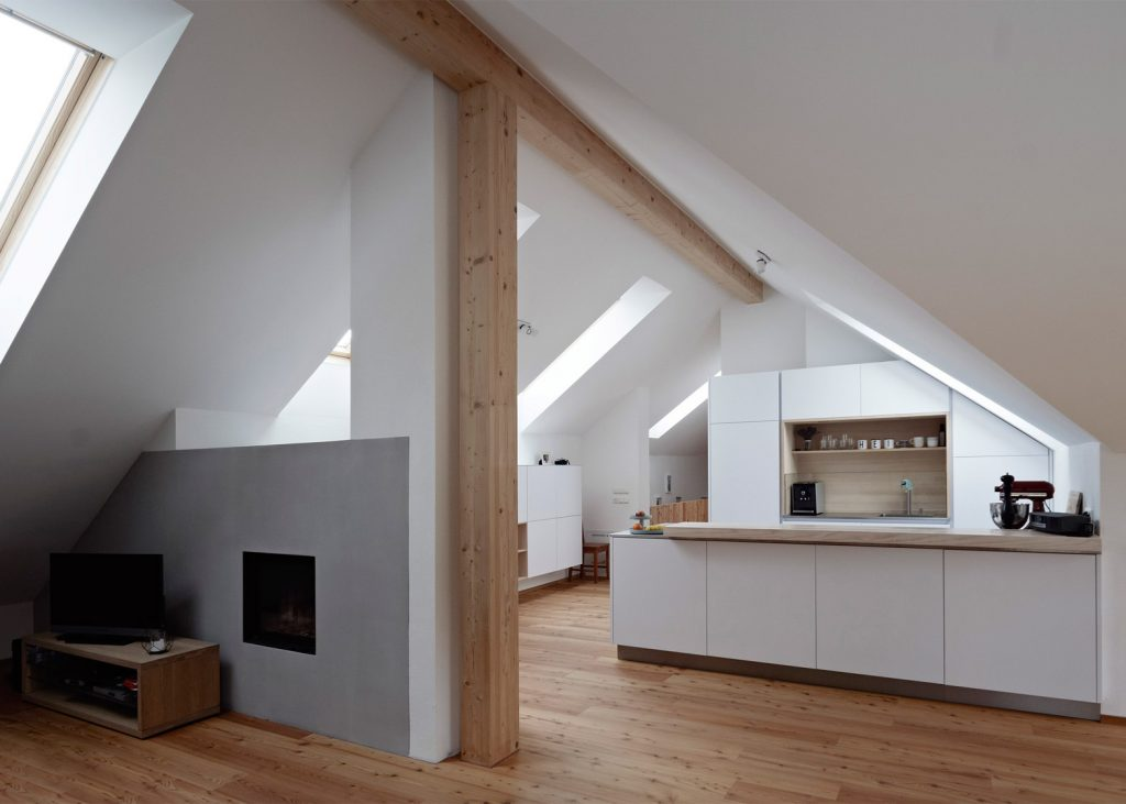 Modern Extension Was Added To A Traditional Farmhouse In