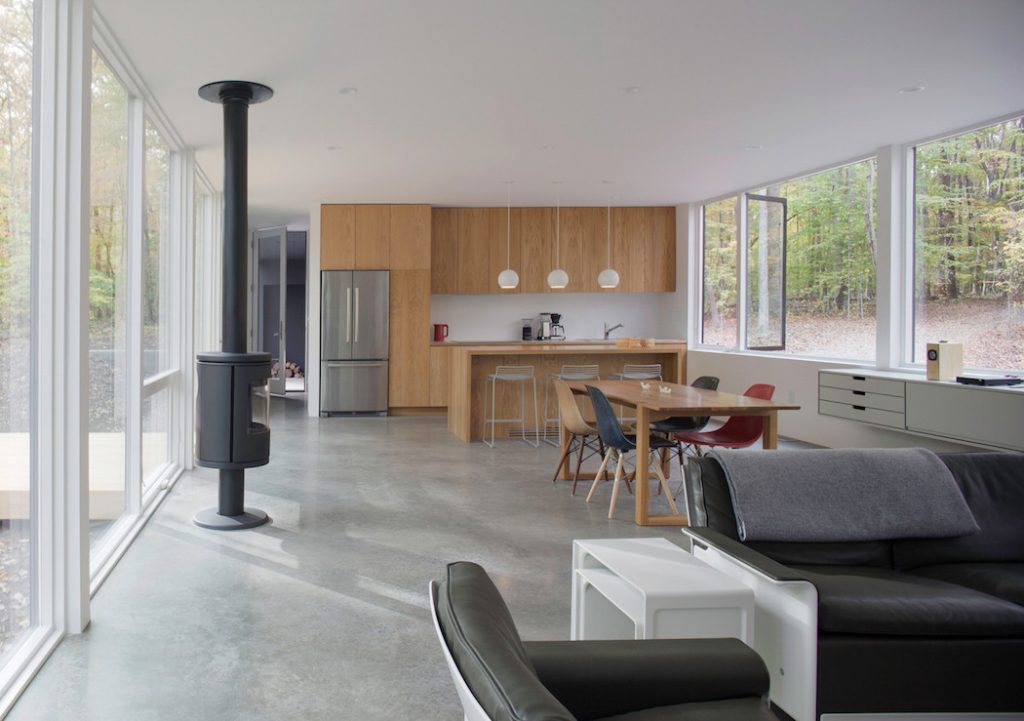Black House Hidden In The Forest By In Situ Studio Your