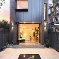 An extention to semi-detached cottage by architect Amrish Maharaj