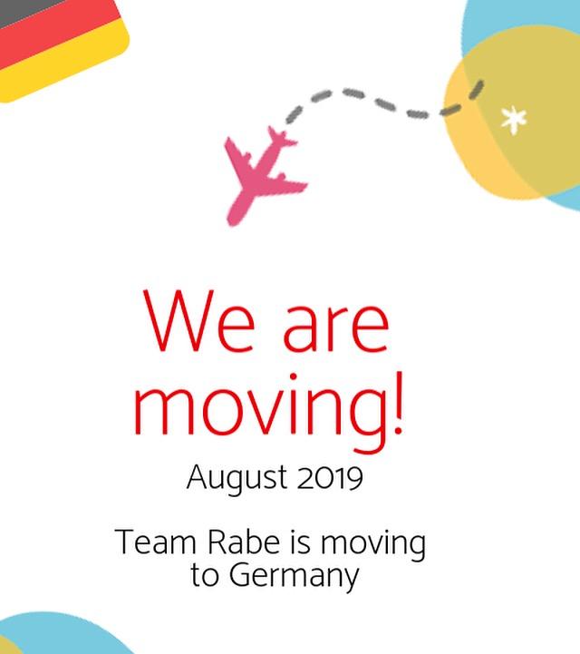 Hallo Deutschland Germany  Team Rabe