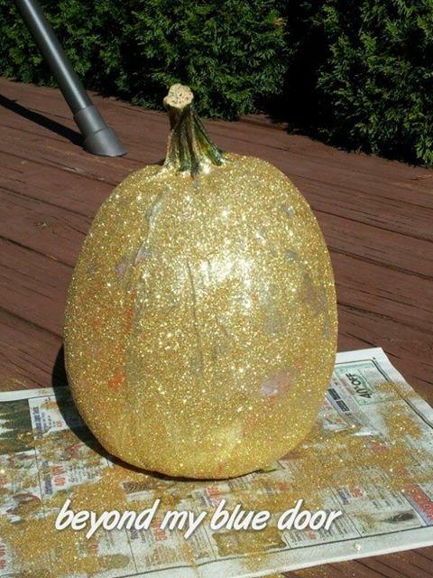 Glitter Time Pumpkins