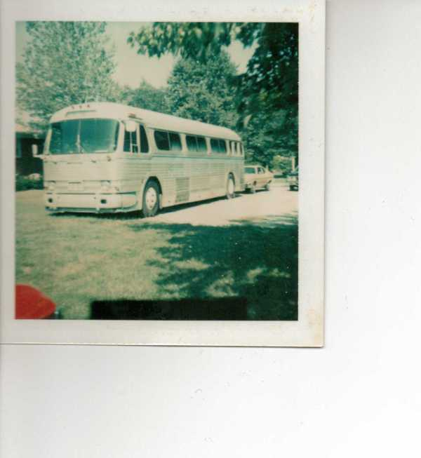 Cook Family Singer's Bus