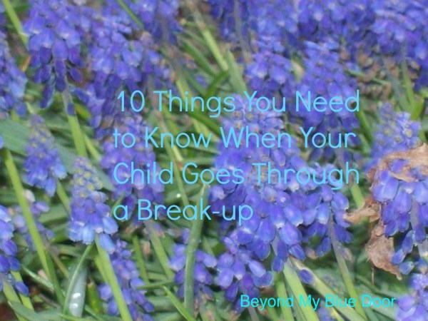 Breaking up- what parents need to know