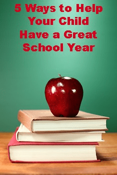 5 Ways to Help Your Child Have a Great School Year