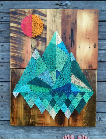 string-art-cuadros-montañas-geometrica