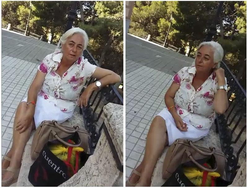 Mujer desalmada