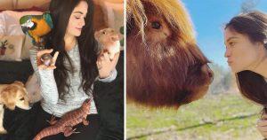 Mujer cuida animales abandonados que nadie más quiere