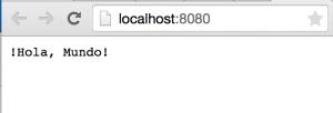Hola mundo en el navegador