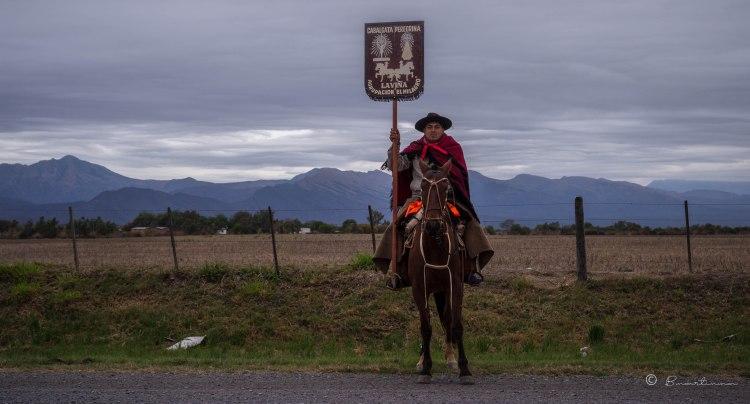 Gaucho peregrino. Provincia de Salta. Argentina 2017