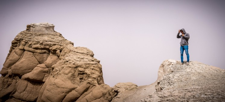 Las formaciones rocosas tienen similitud con buques o barcos viejos, abandonados.