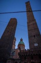 Las Torres inclinadas de Bolonia. Italia 2017.