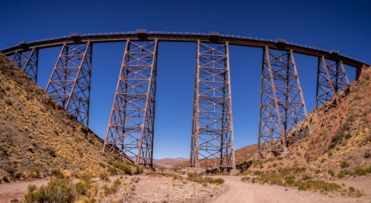 Viaducto de la Polvorilla. Provincia de Salta. Argentina 2017