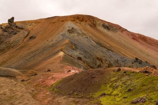 Montaña de riolita. Landmannalaugar.