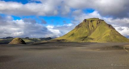 Volcán Hattafell. Trekking del,Landmannalaugar.