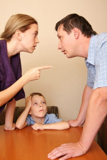 My parents divorce