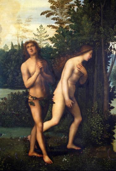 is religion evil adam and eve