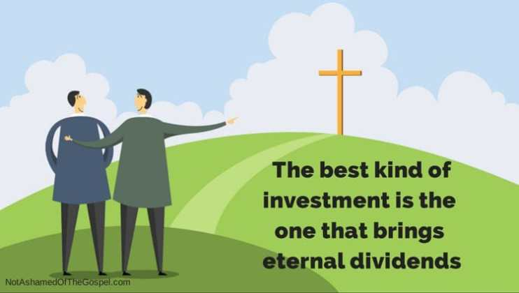stewardship and eternal dividends