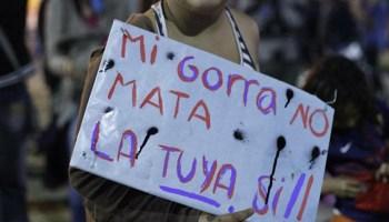 """Marcha de la Gorra  """"Tener un presente con derechos para poder ... c0872ecdb8a"""