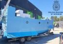 El primer 'narcosubmarino' hecho en España es hallado en un almacén del Mediterráneo