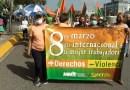 Manifestantes reclaman por ley del aborto en República Dominicana en el Día Internacional de la Mujer