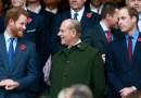 El príncipe Harry aterrizó en el Reino Unido para el funeral del príncipe Felipe