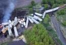 Evacuación por descarrilamiento e incendio de un tren en el noroeste de Iowa