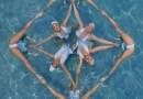 Fotógrafo captura el nado sincronizado como nunca antes lo hemos visto gracias a los drones