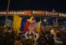 Jornada pacífica de protestas en Bogotá termina con algunos actos de violencia