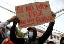 Futbolistas colombianos apoyan protestas en el país