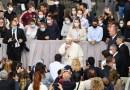 El papa reanuda las audiencias con público tras meses de cierre por la pandemia