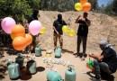 Por qué los globos incendiarios son el foco de tensión más reciente entre Israel y Hamas
