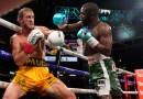Floyd Mayweather y Logan Paul intercambian golpes durante 8 asaltos en una pelea de exhibición de pago por evento