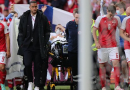 Christian Eriksen se encuentra en condición estable después de colapsar en partido de la Eurocopa 2020
