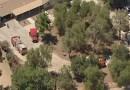 Un bombero murió durante el tiroteo en una estación en Agua Dulce, California