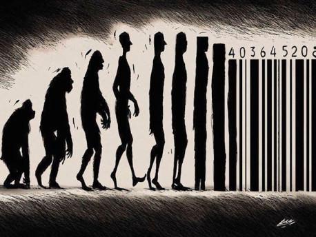 """32 ilustrações que questionam a tal """"evolução"""" da humanidade"""