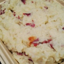 Mashed Potatoes and Cauliflower