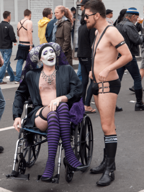Folsom Street Fair in San Francisco, 2011 (Wikimedia Commons)
