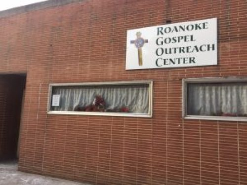 Roanoke Gospel Outreach Center on the site of the Last Straw Bar. Photo by Rachel Barton.