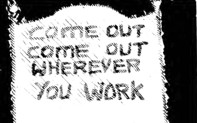 Working Out: Reflections of gay trade union activism in the 1970s UK