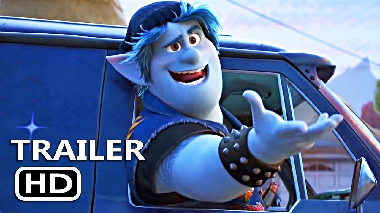 New Trailer | Pixar: Onward starring Chris Pratt and Tom Holland