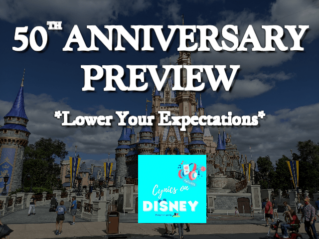 WDW 50th Anniversary Preview