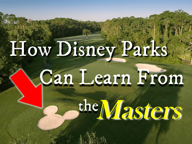 Does Disney Have a Masters Problem?