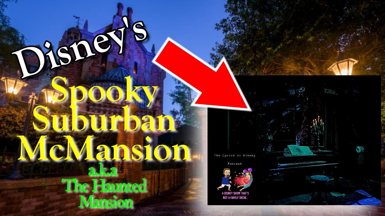 CODP21 Disney's Spook Suburban McMansion