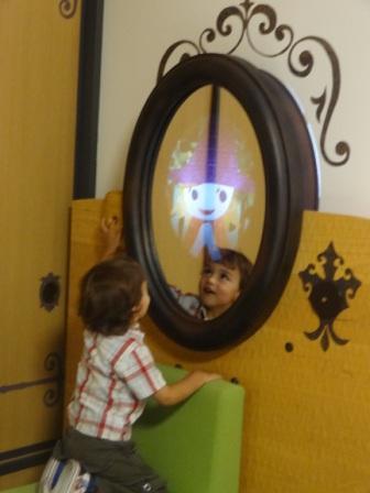 Happy Magic Room Mirror