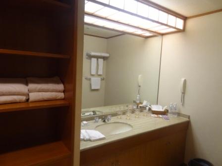 Hilton Tokyo Bay - Japanese Suite Bathroom