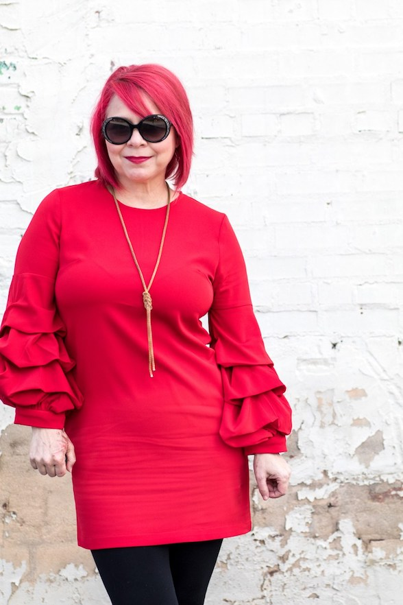 jenny red sleeves